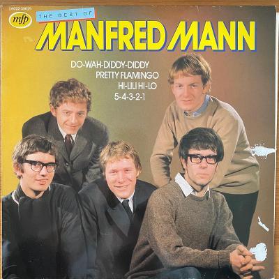 Manfred Mann – The Best Of Manfred Mann - LP vinyl