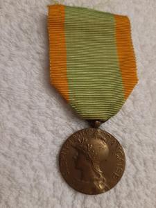 FRANCIE 1914-1918 Medaile Volontaires, vojenských dobrovolníků