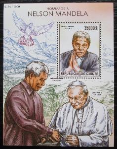 Guinea 2015 Nelson Mandela Mi# Block 2568 Kat 14€ 1053