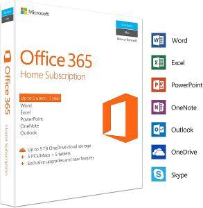 Microsoft Office 365 ProPlus pro 5 zařízení + OneDrive 5TB úložiště