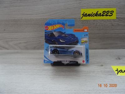 Hotwheels 19 Corvette ZR1 Convertible
