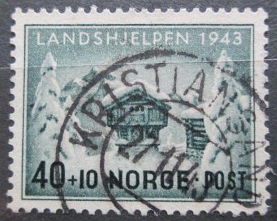 Norsko 1943 Národní pomoc Mi# 294 Kat 7€ 1100