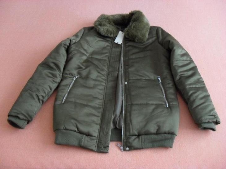 Dámská bunda - teplá, vel. XL (40/42) - NOVÁ s visačkou - Dámské oblečení