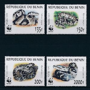 Benin 1999 Krajty, WWF Mi# 1159-62 Kat 12€ 1117
