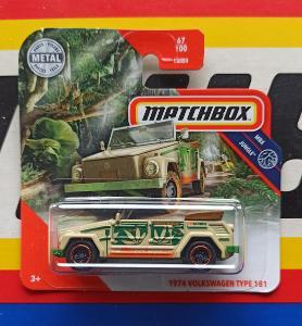 Volkswagen Type 181 1974 MB 67/100 Matchbox