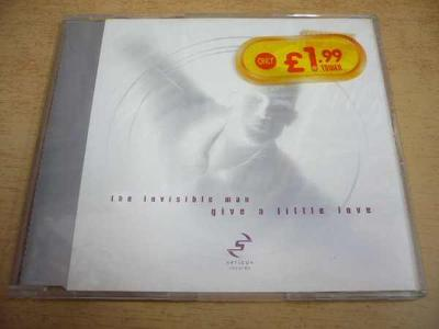 CD THE INVISIBLE MAN / Give A Little Love