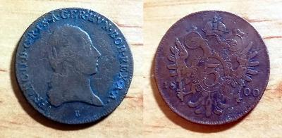 František I. - 3 Kr 1800 B – SLUŠNÝ