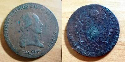 František I. - 6 Kr 1800 S  - KRÁSNÝ