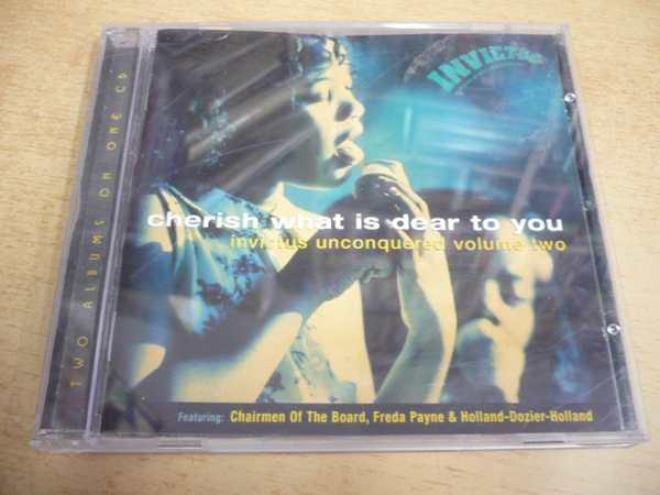 CD CHERISH WHAT IS DEAR TO YOU / invictus unconquered volume two - Hudba