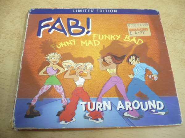 CD FAB! / Turn Around - Hudba