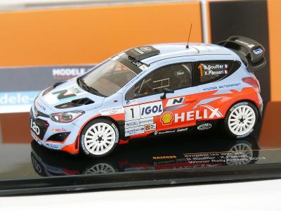 Hyundai i20 WRC - Rallye Antibes 2014 - Bouffier / Panseri - 1:43 IXO