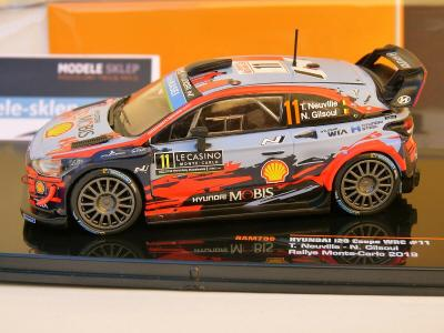 IXO RAM700 Hyundai i20 WRC Monte Carlo Rally 2019 - Thierry Neuville 1