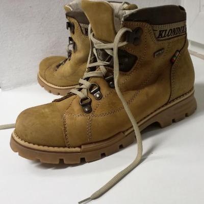 Kožené boty Klondike Ultra Tex Dock-18 vel. 37
