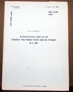 STARÁ NORMA OEG 34 8410 SADA 1991 ELEKTROTECHNIKA KONZOLY PRO VODIČE