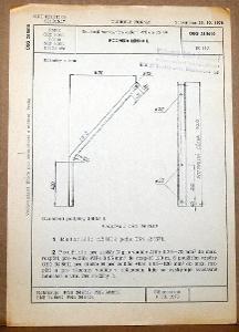STARÁ NORMA OEG 34 8610 1979 ELEKTROTECHNIKA SOUČÁSTI VN VEDENÍ