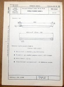 STARÁ NORMA OEG 34 8611 1979 ELEKTROTECHNIKA SOUČÁSTI VN VEDENÍ