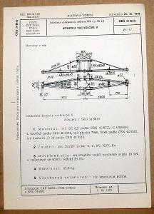 STARÁ NORMA OEG 34 8615 1979 ELEKTROTECHNIKA SOUČÁSTI VN VEDENÍ
