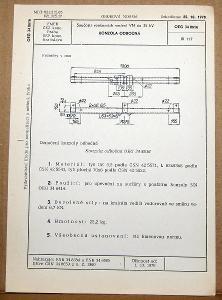 STARÁ NORMA OEG 34 8616 1979 ELEKTROTECHNIKA SOUČÁSTI VN VEDENÍ