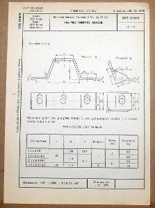 STARÁ NORMA OEG 34 8618 1979 ELEKTROTECHNIKA SOUČÁSTI VN VEDENÍ