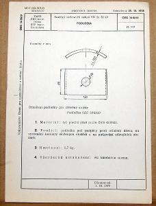 STARÁ NORMA OEG 34 8619 1979 ELEKTROTECHNIKA SOUČÁSTI VN VEDENÍ