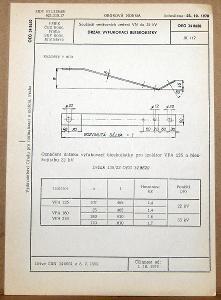 STARÁ NORMA OEG 34 8620 1979 ELEKTROTECHNIKA SOUČÁSTI VN VEDENÍ