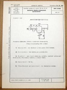 STARÁ NORMA OEG 34 8621 1979 ELEKTROTECHNIKA SOUČÁSTI VN VEDENÍ
