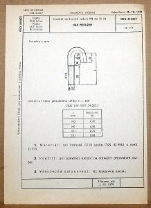 STARÁ NORMA OEG 34 8623 1979 ELEKTROTECHNIKA SOUČÁSTI VN VEDENÍ