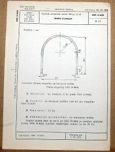 STARÁ NORMA OEG 34 8628 1979 ELEKTROTECHNIKA SOUČÁSTI VN VEDENÍ