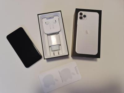 Apple iPhone 11 Pro Max 64GB silver CZ 11 měsíců záruka
