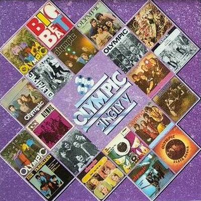 OLYMPIC - Singly V - ( RARE Bonton AAD ) .... JAKO NOVÉ !! - čti popis