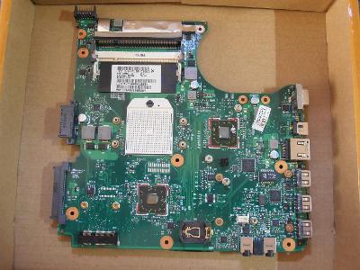 Nefunkční základní deska z HP compaq 515 615 CQ515 CQ615 (I.)