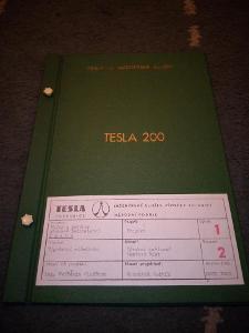 """Originální desky k Tesla 200 výpočetní technika RRR"""""""