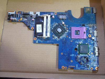 Nefunkční základní deska z HP CQ42 CQ62 HP G62 G72