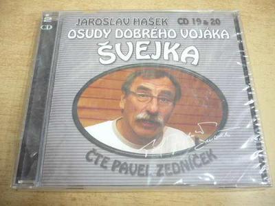 2 CD-SET: J.HAŠEK / Osudy dobrého vojáka Švejka (CD 19 & 20) NOVÉ