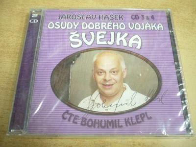 2 CD-SET: J.HAŠEK / Osudy dobrého vojáka Švejka (CD 3 & 4) NOVÉ