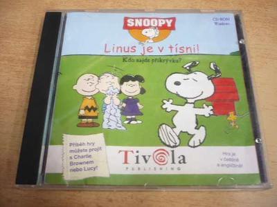CD-ROM SNOOPY - Linius je v tísni!
