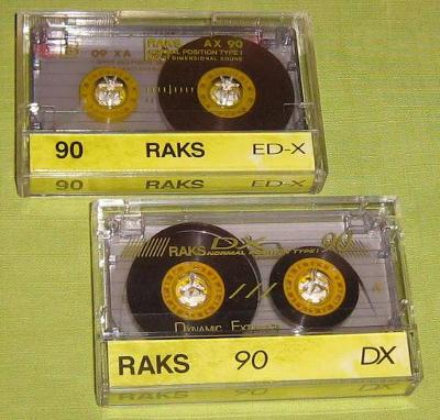 Audio Kazeta RAKS DX 90 ED-X 90 3x MC