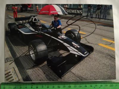Autogram podpis Lauda Mathias
