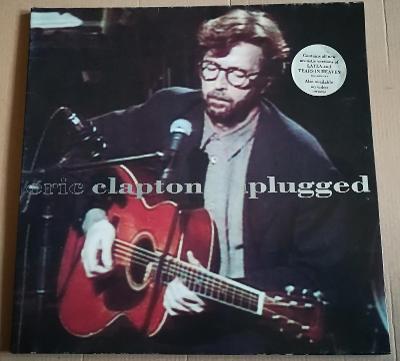 LP ERIC CLAPTON-UNPLUGGED/EX++, TOP STAV, 1992,PŮVODNÍ VYDÁNÍ