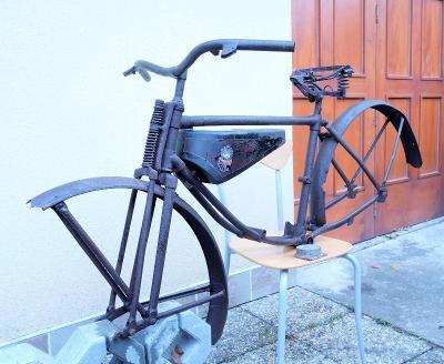 Torzo ČZ 98 bezrychlostní 1933-36