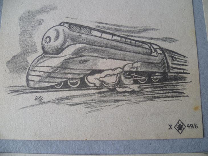 Nádraží Vlak  Železnice  Vagon Vlak Parní lokomotiva ČSD Reklama - Ostatní