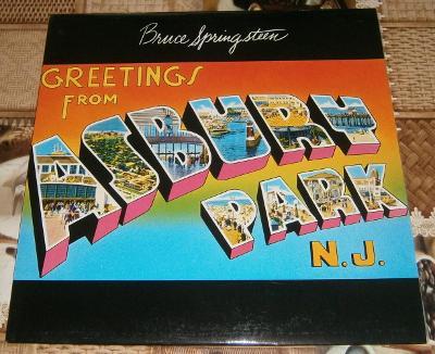 LP - Bruce Springsteen - Greetings from...(Direkt rec) / Luxusní stav!
