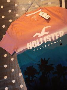 Stylové pánské tričko Hollister - velikost (S)