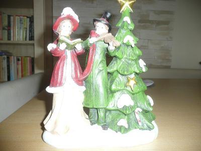 Vánoční soška (polyresin/polystone)