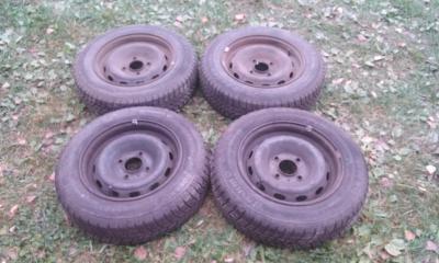Kola s pneu 155/70 R13 zimní