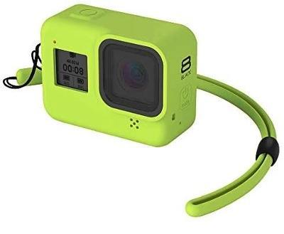 GoPro Hero8 Go Pro Hero 8 Black, silikonový obal pouzdro kryt + poutko