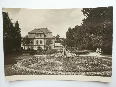 Domažlice - Příhodovy sady 1955