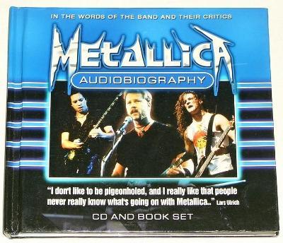 Metallica - Audiobiography   CD and Book set