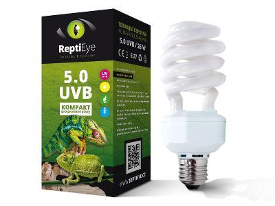 Žárovka ReptiEye UVB 5.0 26w
