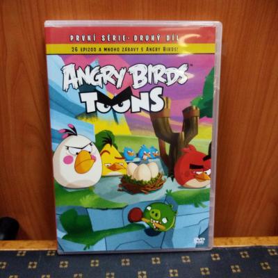 DVD ANGRY BIRDS~seriál, 1.série-2.díl (epizody 27-62) / originál